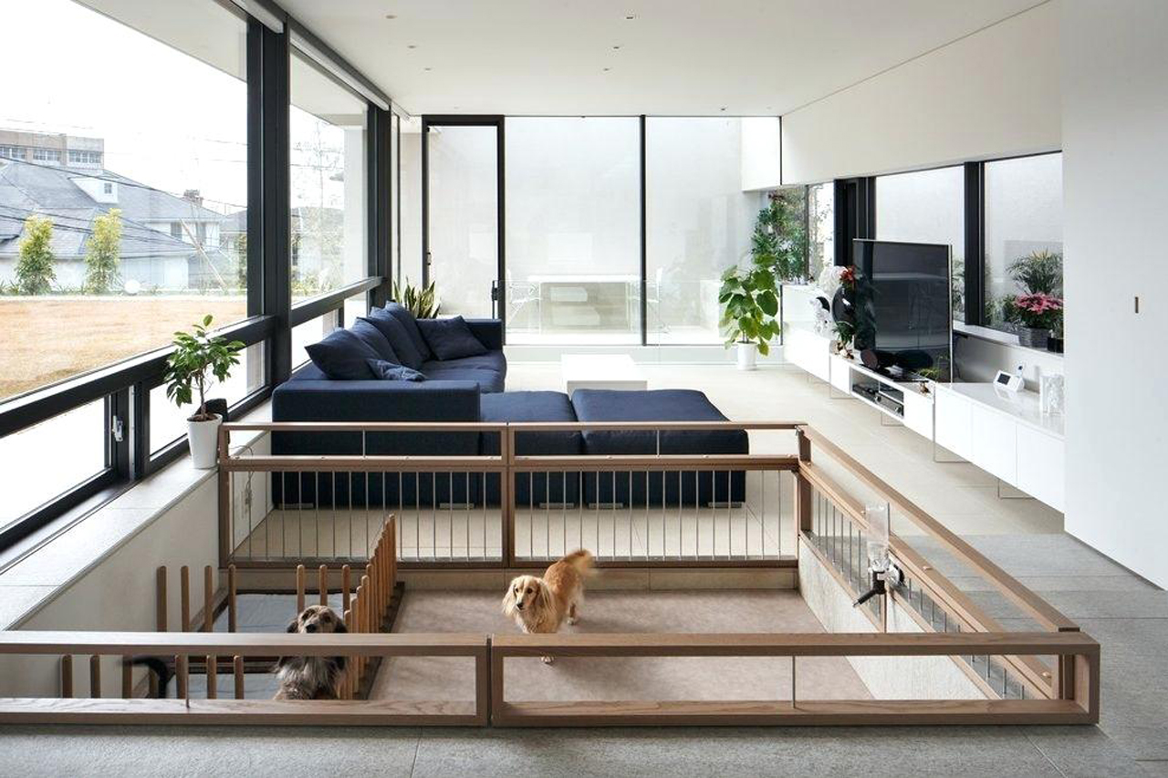 inpiração de espaço para cachorro em casa