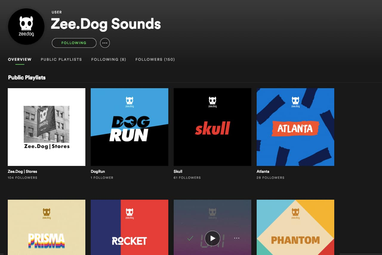 Zee.Dog no Spotify
