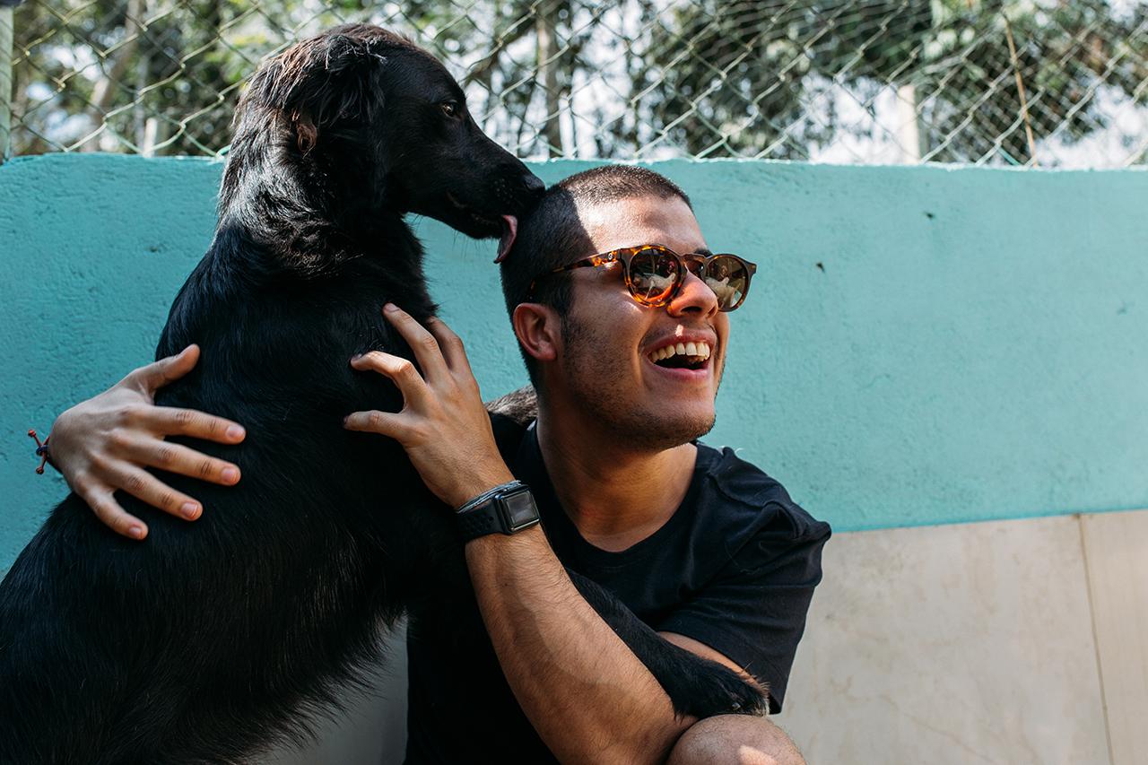 ação social Zee.Dog